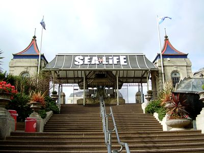 SeaLife Brighton entrance